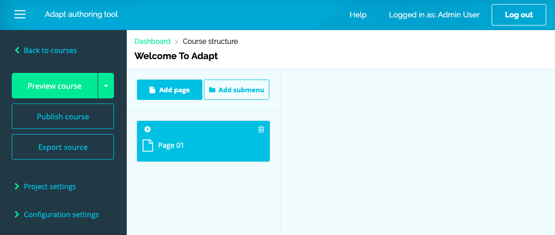 Homepage - Adapt Learning