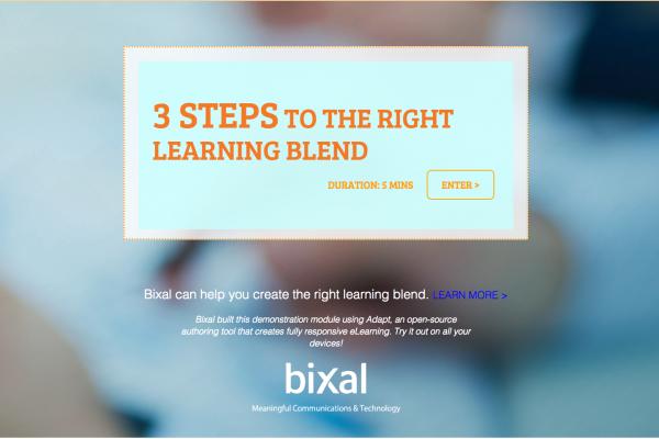Bixal Three Steps Module