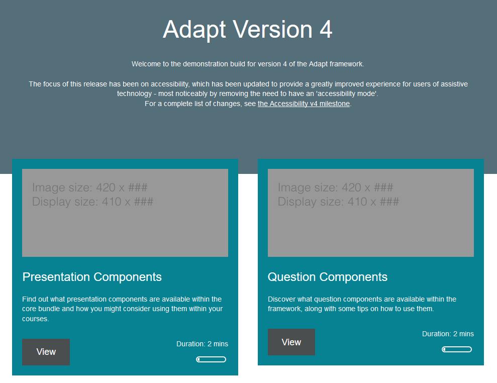 Adapt showcase - Adapt Learning